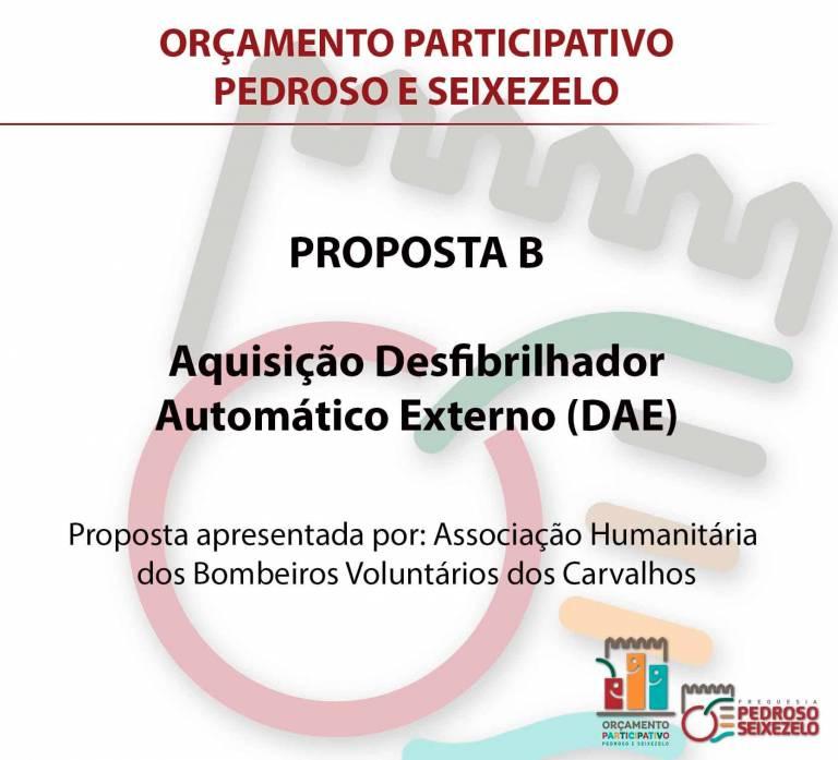 Orçamento Participativo da Junta de Freguesia de Pedroso e Seixezelo